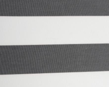 Windscherm Avalo in Dralon streep kleur Grijs