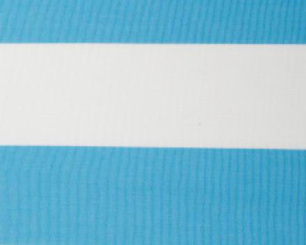 Windscherm Avalo in Dralon streep kleur Turqoise