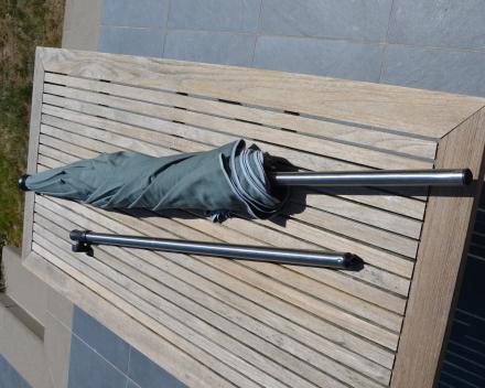 parasol met onderstok