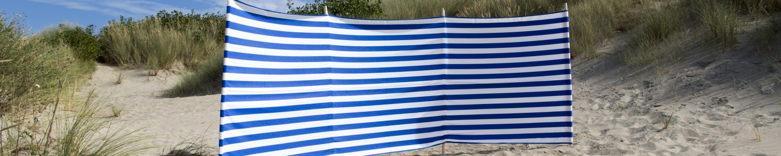 Windschermen, tuinschermen, strandschermen