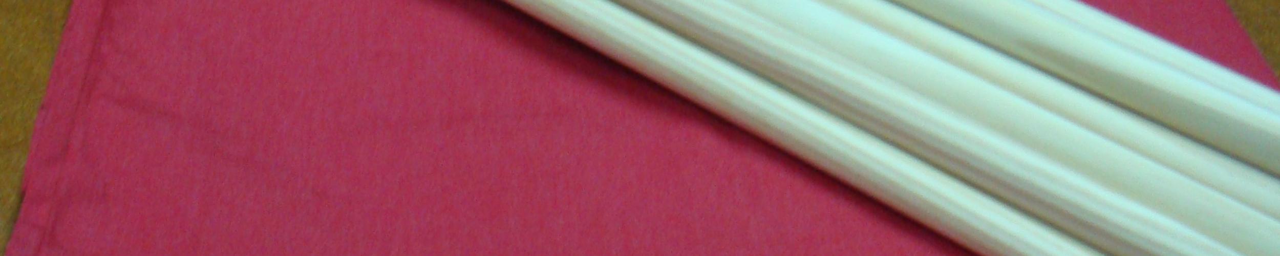 Windscherm Rood 6 meter, Stockactie nummer 32