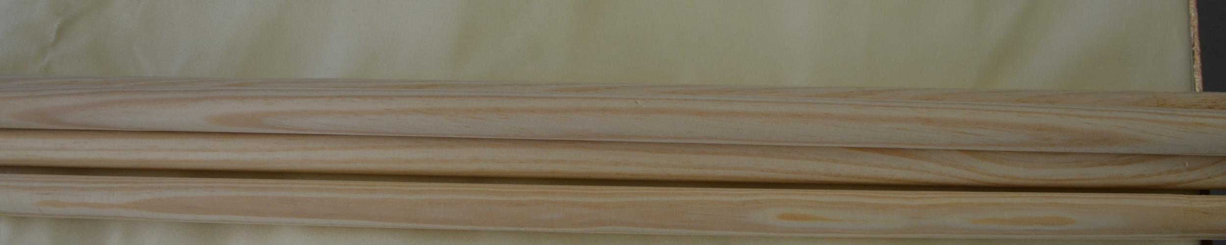 Windscherm Crèmekleur 6 meter, stockactie nummer