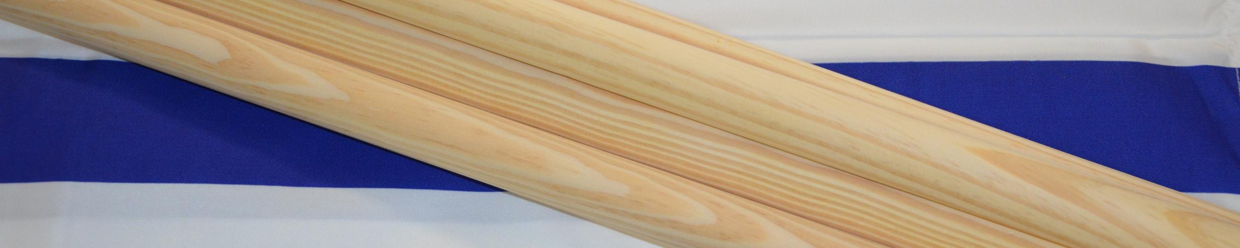 Windscherm Kobalt blauw/Wit 6 meter, Stockactie nummer