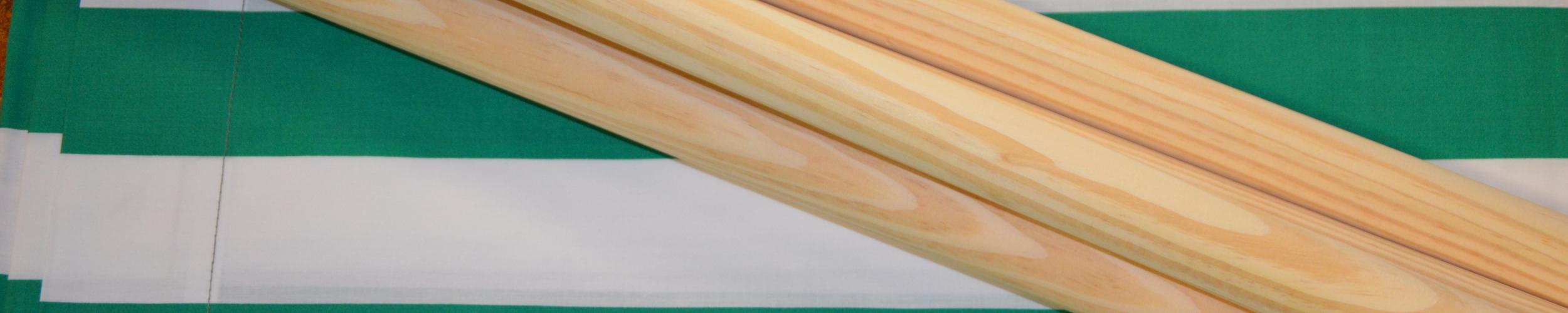 Windscherm Groen/Wit 5 meter, Stockactie nummer