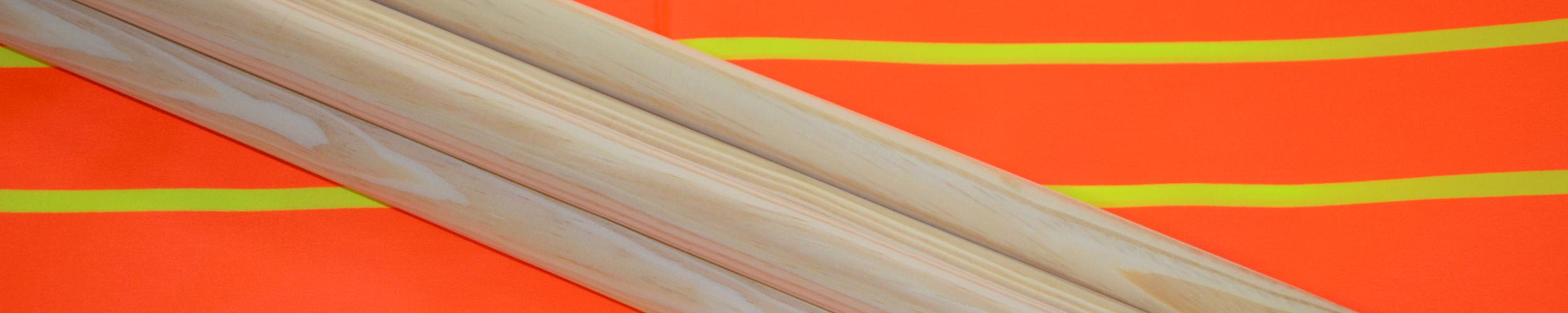 Windscherm Oranje/Geel fluo 4 meter, Stockactie nummer