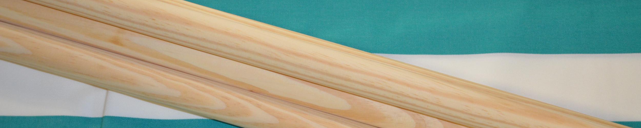 Windscherm Turquoise-groen/wit 4 meter, stockactie nummer