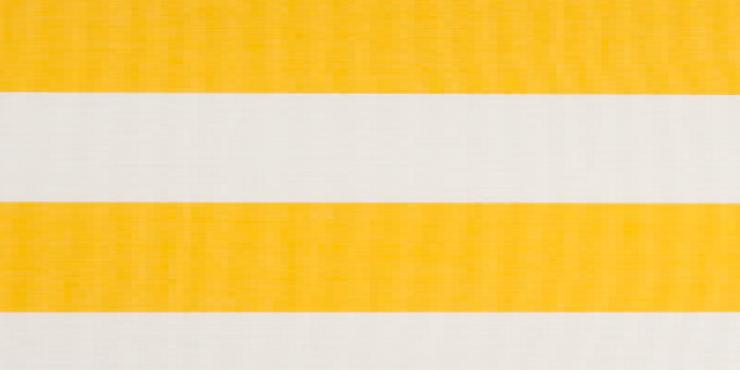 4 meter tuinscherm geel/wit, artikel nummer 63734