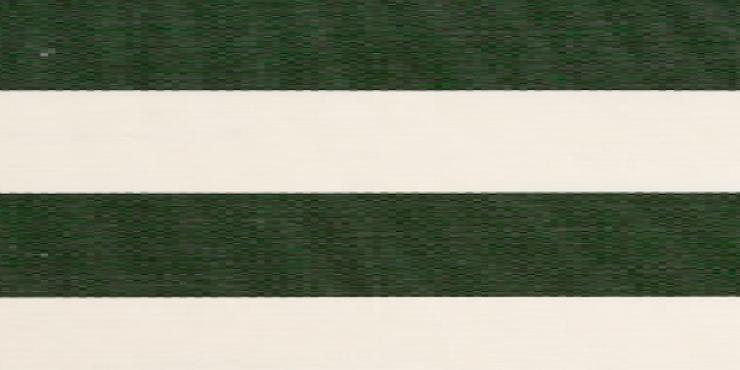 4 meter tuinscherm groen/wit, artikel nummer 63634