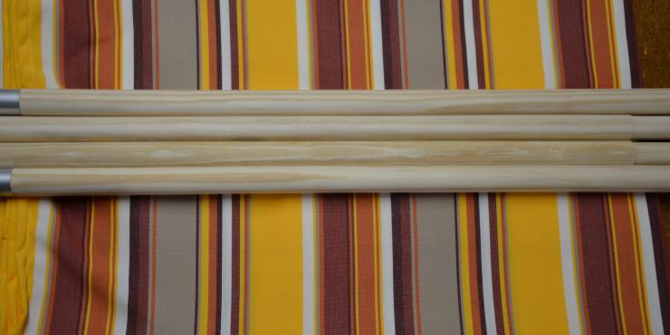 Windscherm Multicolor 4 meter, Stockactie nummer 162