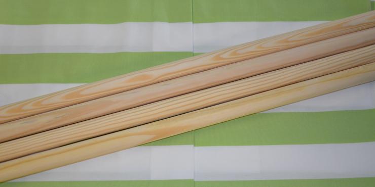 Windscherm Limoen groen/Wit 6 meter, Stockactie nummer 113